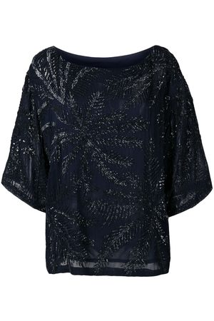 P.a.r.o.s.h. Mujer Blusas - Blusa con detalles de lentejuelas
