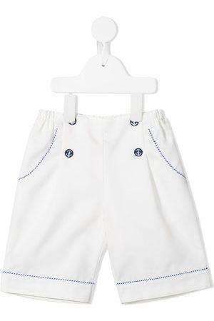 Familiar Shorts con motivo de ancla en los botones