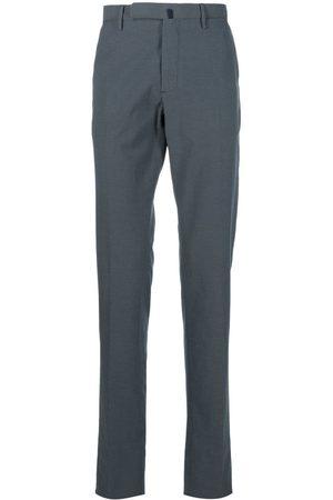 Incotex Pantalones de vestir con motivo de lunares