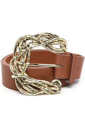 B-Low The Belt Cinturón con hebilla ondulada