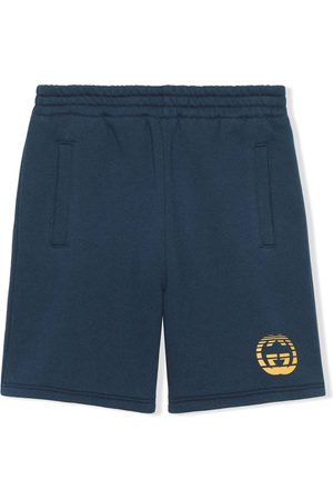 Gucci Kids Shorts con motivo Interlocking G