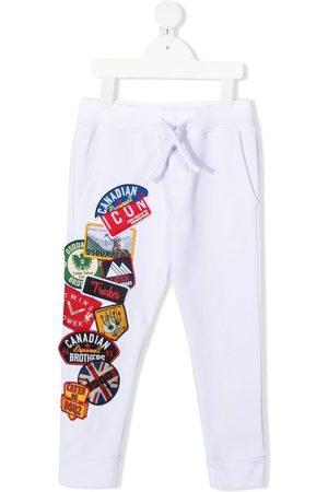 Dsquared2 Pantalones de chándal con múltiples logos