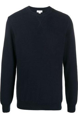 Sunspel Suéter tejido con cuello redondo