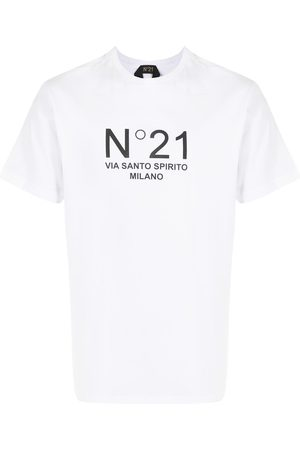 Nº21 Playera con logo estampado