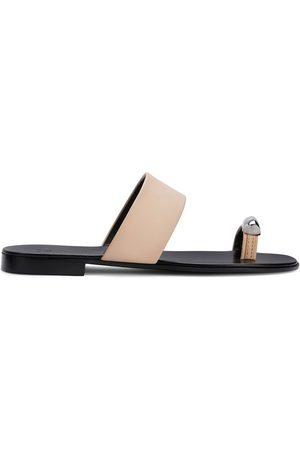 Giuseppe Zanotti Hombre Sandalias - Metal toe strap sandals
