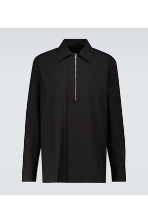 Givenchy Hombre Camisas - Zipped long-sleeved shirt