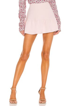 Amanda Uprichard Falda-pantalón gabbie en color talla L en - Blush. Talla L (también en XS, S, M).