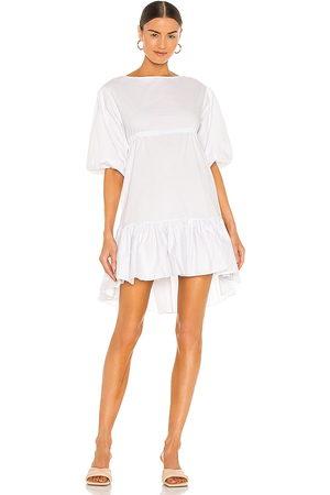 LPA Vestido lani en color talla L en - White. Talla L (también en XXS, XS, S, M, XL).