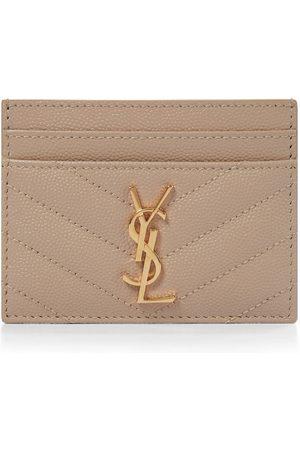 Saint Laurent Monogram leather card holder