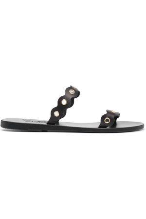 Ancient Greek Sandals Studded leather sandals