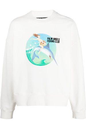 Palm Angels Sudadera con logo Fishing Club
