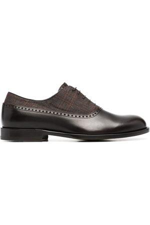 Scarosso Zapatos con panel a cuadros