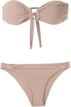 AMIR SLAMA Mujer Bikinis - Bikini estilo bandeau