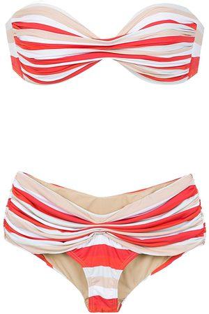 AMIR SLAMA Mujer Bikinis - Bikini a rayas