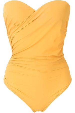 AMIR SLAMA Mujer Trajes de baño - Traje de baño estilo bandeau drapeado