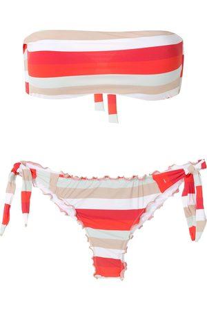 AMIR SLAMA Mujer Bikinis - Bikini tipo bandeau Frufru