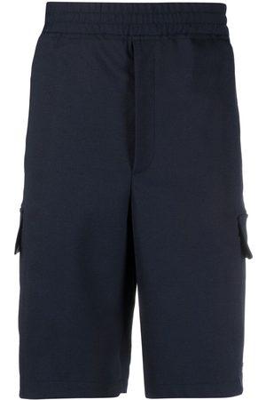 Neil Barrett Shorts deportivos por la rodilla