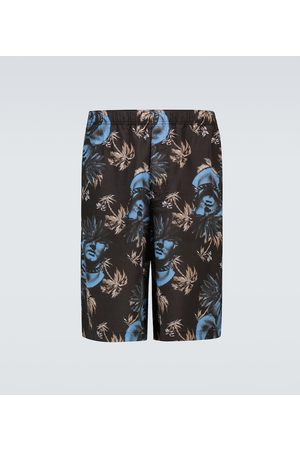 UNDERCOVER Hombre Shorts - Floral printed shorts