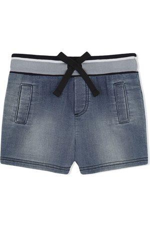 Dolce & Gabbana Shorts de mezclilla con parche del logo