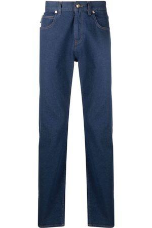 VERSACE Jeans rectos con parche del logo