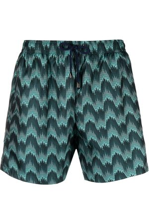Missoni Zigzag-print swim shorts