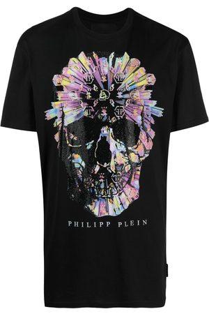 Philipp Plein Playera con motivo Skull