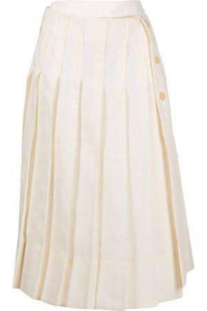 Jacquemus La Jupe Plissée mid-length skirt