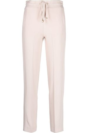 BLUMARINE Pantalones slim con cordones en la pretina