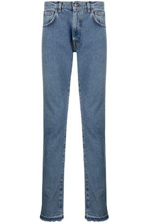 424 FAIRFAX Jeans rectos con tiro medio