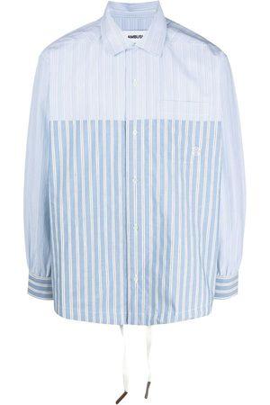 AMBUSH Camisa a rayas con cordón