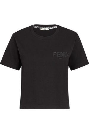 Fendi Camiseta con logo