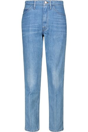 Frame Mujer Rectos - Le Italien high-rise straight jeans