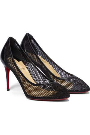 Christian Louboutin Mujer Pumps - Filomena 85 leather-trimmed pumps