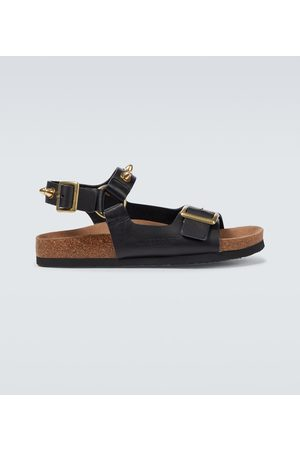 UNDERCOVER Hombre Sandalias - Studded leather sandals