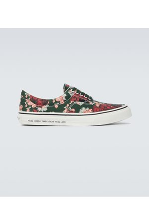 UNDERCOVER Hombre Tenis - Floral canvas sneakers