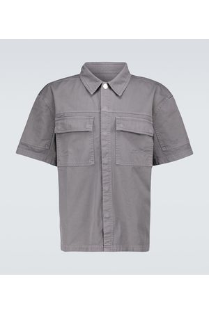 A-cold-wall* Short-sleeved twill overshirt