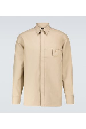Givenchy Long-sleeved cotton shirt