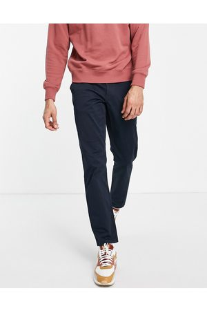 New Look Slim chino trousers in navy