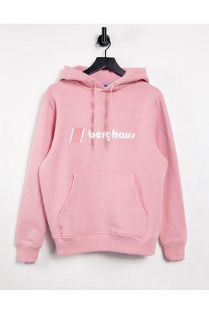 Berghaus Heritage logo hoodie in pink