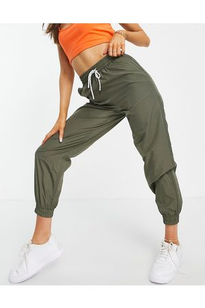 Pieces Joggers in khaki