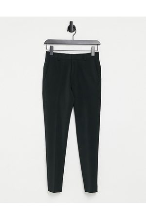 ASOS Super skinny cropped smart trouser in black