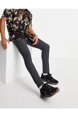 ASOS Super skinny smart trouser in charcoal
