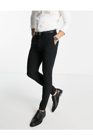 ASOS Super skinny smart trouser in black