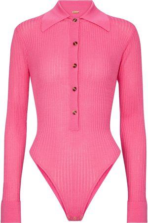 DODO BAR OR Mujer Body - Ribbed-knit bodysuit