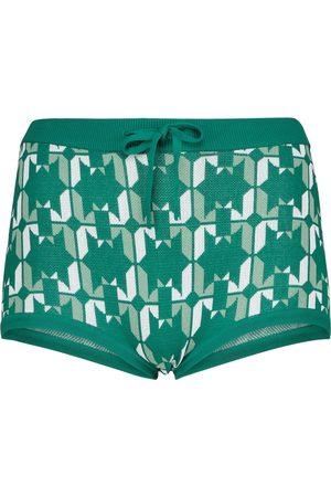 DODO BAR OR Mujer Shorts - Jacquard low-rise shorts