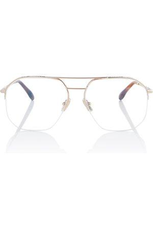 Victoria Beckham Aviator glasses