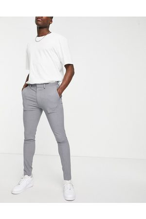 ASOS Super skinny smart trouser in grey