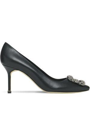 """Manolo Blahnik Mujer Pumps - Zapatos Pumps """"hangisi"""" De Piel 70mm"""