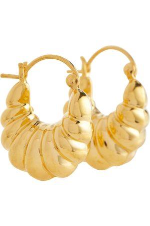 Sophie Buhai Mujer Aretes - 18-karat gold hoop earrings