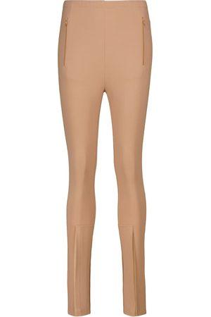 WARDROBE.NYC Mujer Leggings y treggings - Release 05 high-rise split-hem leggings